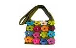 Multi Color Flower Bag